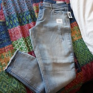 NWT distressed Rockstar ankle Jean's